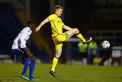 Rory Gaffney of Bristol Rovers nd Leon Barnett of Bury in action - Mandatory by-line: Matt McNulty/JMP - 14/03/2017 - FOOTBALL - Gigg Lane - Bury, England - Bury v Bristol Rovers - Sky Bet League One