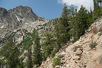 Sawtooh Lake trail Idaho