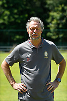 LIEGE, BELGIUM - JULY 10:  <br /> Michel Preud'homme, head coach of Standard, during the 2019 - 2020 season photo shoot of Standard de Liege on July 10, 2019 in Liege, Belgium. (Photo by Johan Eyckens/Isosport)
