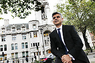 Sadiq Khan MP at Westminster