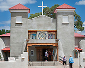 St. Anthony's Church in Questa