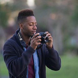 Stock photo of a young man