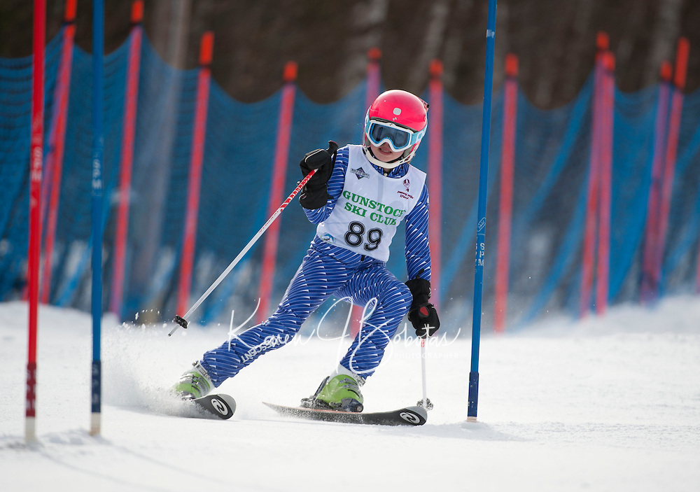 BWL J5  slalom at Gunstock  March 4, 2012.