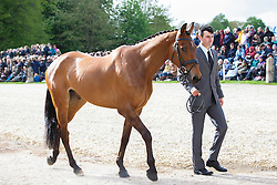 Ugolotti Giovanni, (ITA), Stilo Kontika<br /> First Horse Inspection<br /> Mitsubishi Motors Badminton Horse Trials - Badminton 2015<br /> © Hippo Foto - Libby Law<br /> 06/05/15