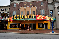 The Colonial, located in the hart of the commercial corridor on Bridge Street in Phoenixville, PA, on August 21, 2018. (Bastiaan Slabbers for WHYY)