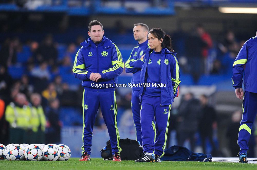 Eva Carneiro - 11.03.2015 - Chelsea / Paris Saint Germain - 1/8Finale Champions League<br />