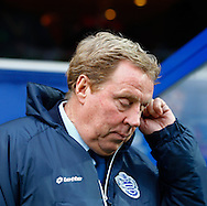 Picture by David Horn/Focus Images Ltd +44 7545 970036<br /> 07/12/2013<br /> Harry Redknapp Manager of Queens Park Rangers before the Sky Bet Championship match at the Loftus Road Stadium, London.