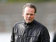 FODBOLD: Cheftræner Søren Bjerg (AB) før kampen i NordicBet Ligaen mellem AB og FC Helsingør den 11. maj 2017 på Helsingør Stadion. Foto: Claus Birch