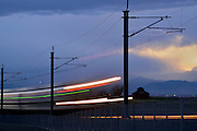 """Opening weekend of the new RTD Denver International Airport to downtown Denver """"University of Colorado A-Line"""" rail service.  #TrainToThePlane #CUALine"""