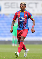 """Crystal Palace's Patrick van Aanholt during the pre-season friendly match at the Madejski Stadium, Reading. PRESS ASSOCIATION Photo. Picture date: Saturday July 28, 2018. See PA story SOCCER Reading. Photo credit should read: Mark Kerton/PA Wire. RESTRICTIONS: EDITORIAL USE ONLY No use with unauthorised audio, video, data, fixture lists, club/league logos or """"live"""" services. Online in-match use limited to 75 images, no video emulation. No use in betting, games or single club/league/player publications."""