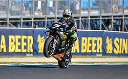 October 26, 2018 - Melbourne, Victoria, Australia - French rider Johan Zarco (#5) of Monster Yamaha Tech 3 in action during day 2 of the 2018 Australian MotoGP held at Phillip Island, Australia. (Credit Image: © Theo Karanikos/ZUMA Wire)