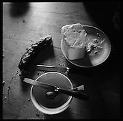 Boganggenalp, am Fusse des Schilthorns mit Aussicht auf das Bergpanorama von Mönch und Jungfrau. Auf Oberberg stand das grösste Alpgebäude des Kantons. Mit der Milch von 98 Kühen werden jeden Sommer 10000kg Berner Alpkäse AOC & Hobelkäse AOC in1000Laiben produziert. © Romano P. Riedo