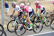 Rigoberto Uran (COL - EF Education First - Drapac) and Sergio Luis Henao (COL - Team Sky) during the 73th Edition Tour of Spain, Vuelta Espana 2018, stage 10 cycling race, Salamanca - Fermoselle Bermillo de Sayago 177 km on September 4, 2018 in Spain - Photo Luis Angel Gomez / BettiniPhoto / ProSportsImages / DPPI
