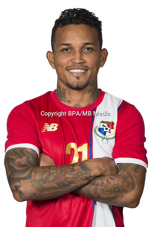 Football Conmebol_Concacaf - <br />Copa America Centenario Usa 2016 - <br />Panama National Team - Group D - <br />Amilcar Henriquez
