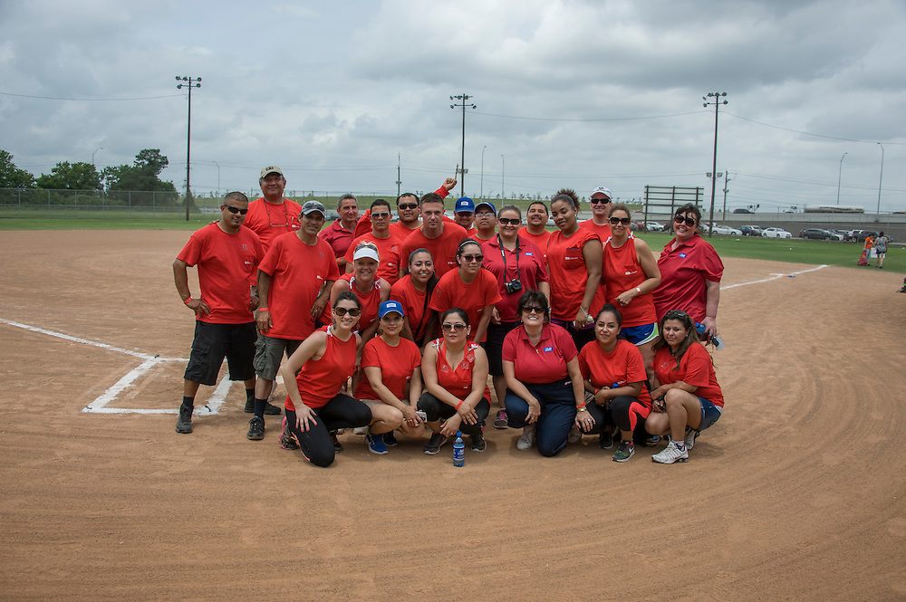 Photograph from the 2015 Houston Apartment Association Sports Challenge event on Friday, May 8, at the Houston Sportsplex on Highway 90. (Photograph by Mark Hiebert, HiebertPhotography.com)