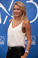 Tetyana Veryovkina at the Franca: Chaos And Creationt film photocall at the 73rd Venice Film Festival, Sala Grande on Friday September 2nd 2016, Venice Lido, Italy.