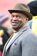 Nov 18, 2018; Landover, MD, USA; Executive Director of the National Football League Players Association (NFLPA), DeMaurice Smith smiles at FedEx Field before a game between the Houston Texans and the Washington Redskins. The Texans beat the Redskins 23-21. (Steve Jacobson/Image of Sport)