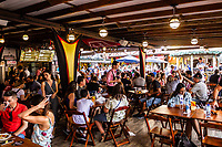 Interior de restaurante durante a Oktoberfest 2018. Blumenau, Santa Catarina, Brasil. / Interior of a restaurant during Oktoberfest 2018. Blumenau, Santa Catarina, Brazil.