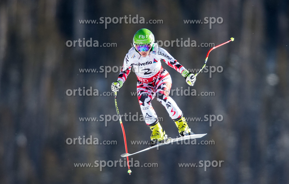 02.02.2015, Raptor Strecke, Beaver Creek, USA, FIS Weltmeisterschaften Ski Alpin, Damen, Abfahrt, 1. Training, im Bild Nicole Schmidhofer (AUT) // Nicole Schmidhofer of Austria in action during first training run for the ladie's Downhill of FIS Ski World Championships 2015 at the Raptor Course in Beaver Creek, United States on 2015/02/02. EXPA Pictures © 2015, PhotoCredit: EXPA/ Johann Groder