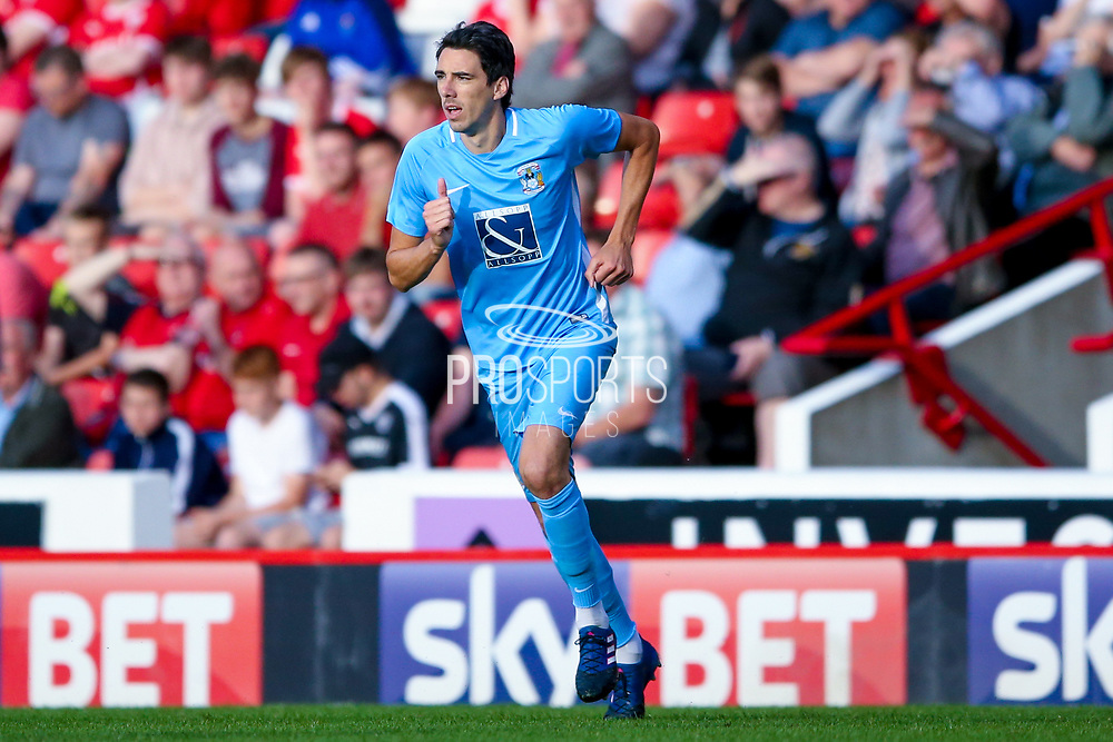 Coventry City midfielder Peter Vincenti (7) in action  during the Pre-Season Friendly match between Barnsley and Coventry City at Oakwell, Barnsley, England on 18 July 2017. Photo by Simon Davies.