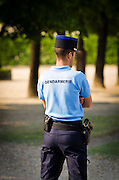 Gendarme at Les Invalides, Paris, France