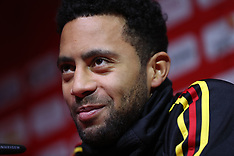 Belgium Team Press Conference & Training - 23 March 2018
