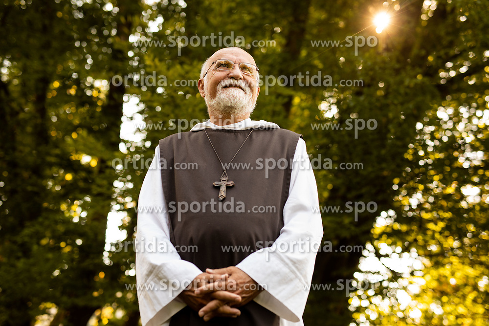 Portrait of Fr. Jacques Philippe, French priest and writer, on August 20, 2019 in  Ljubljana, Slovenia. Photo by Vid Ponikvar / Sportida