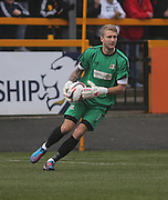 Alloa Athletic keeper Scott Bain - Alloa Athletic v Dundee, SPFL Championship at Recreation Park, Alloa<br /> <br />  - &copy; David Young - www.davidyoungphoto.co.uk - email: davidyoungphoto@gmail.com