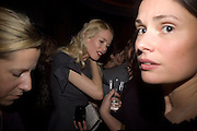 Claudia Schiffer, Dom Perignon and Claudia Schiffer host a celebration of Dom Perignon Oenotheque 1995. The Landau, Portland Place. London W1. 26 February 2008.  *** Local Caption *** -DO NOT ARCHIVE-© Copyright Photograph by Dafydd Jones. 248 Clapham Rd. London SW9 0PZ. Tel 0207 820 0771. www.dafjones.com.