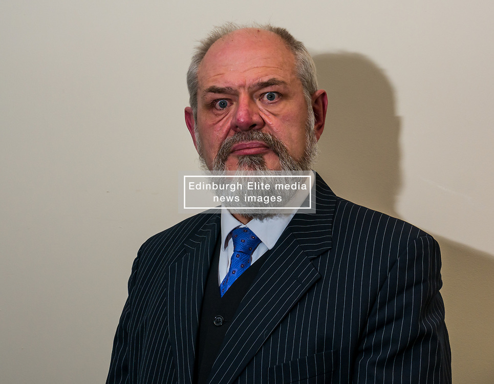 North Berwick, East Lothian, Scotland, United Kingdom, 28 November 2019. General Election: First hustings for the 5 candidates seeking election as MP for East Lothian with questions from the audience rating fro Defence to Honesty. Pictured: David Sisson, UKIP candidate.<br /> Sally Anderson | EdinburghElitemedia.co.uk