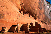 ARIZONA, CANYON DE CHELLY Anasazi; 'White House' cliff home