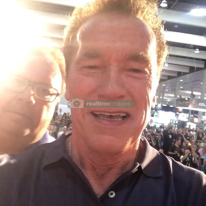 "Arnold Schwarzenegger releases a photo on Instagram with the following caption: ""I went to elementary school with Karl, Franz, and Peter and today we are all together at the Arnold Sports Festival Barcelona. What a joy to bring them with me to experience this! And what a fantastic reminder that none of us are self-made. We're the product of everyone around us who has helped, inspired, and supported along the way."". Photo Credit: Instagram *** No USA Distribution *** For Editorial Use Only *** Not to be Published in Books or Photo Books ***  Please note: Fees charged by the agency are for the agency's services only, and do not, nor are they intended to, convey to the user any ownership of Copyright or License in the material. The agency does not claim any ownership including but not limited to Copyright or License in the attached material. By publishing this material you expressly agree to indemnify and to hold the agency and its directors, shareholders and employees harmless from any loss, claims, damages, demands, expenses (including legal fees), or any causes of action or allegation against the agency arising out of or connected in any way with publication of the material."