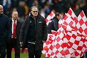 Leeds United Manager Marcelo Bielsa during the EFL Sky Bet Championship match between Stoke City and Leeds United at the Bet365 Stadium, Stoke-on-Trent, England on 19 January 2019.