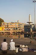 Godavari River Kumbhmela pilgrim site - Nashik, India