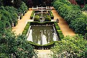 The Alcázar, Sevilla's most famous moorish garden.
