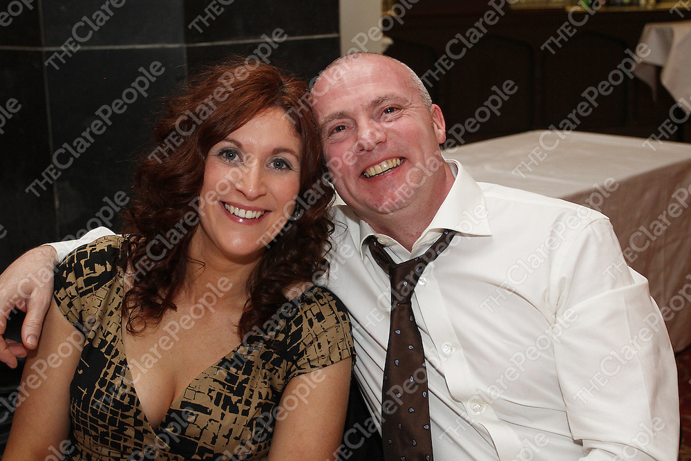Linda & Sean Cregan enjoying the Connolly Celtic Social. Photograph by Flann Howard