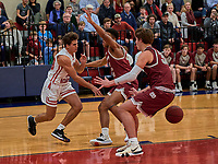 Brentwood Academy lost a home game to MBA 55-47 Friday, January 31, 2020, in Brentwood, Tennessee.<br /> Photo: Harrison McClary/All Tenn Sports