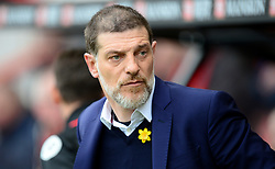 West Ham United manager Slaven Bilic - Mandatory by-line: Alex James/JMP - 11/03/2017 - FOOTBALL - Vitality Stadium - Bournemouth, England - Bournemouth v West Ham United - Premier League