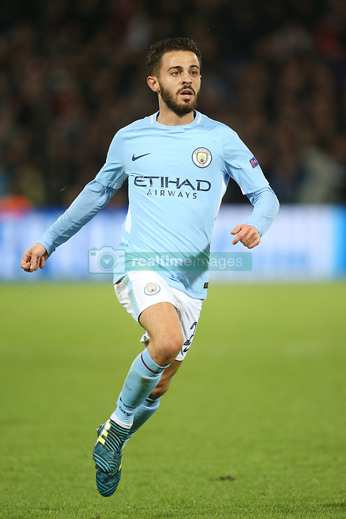 Bernardo Silva of Manchester City during the UEFA Champions League group F match between Feyenoord Rotterdam and Manchester City at the Kuip on September 13, 2017 in Rotterdam, The Netherlands