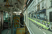 Transport Train Metro Bus Coronavirus Paris