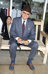 SIR PETER O'SULLEVAN at the 4th day of the 2005 Glorious Goodwood horseracing festival at Goodwood Racecourse, West Sussex on 29th July 2005.    <br />