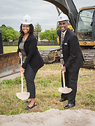 Groundbreaking ceremony for new Academic and Behavioral School West, April 3, 2019.