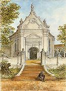 Dutch Church Galle Fort, by van Dort