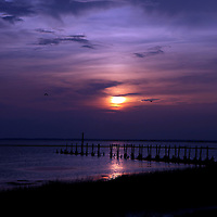 St. Marks National Wildlife Refuge sunset along the Big Bend Scenic Highway in the Apalachicola National Forest in Florida. (AP Photo/Alex Menendez) Florida scenic highway photos from the State of Florida. Florida scenic images of the Sunshine State.