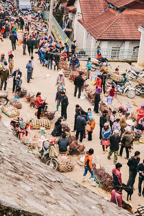Bac Ha sunday market, Vietnam
