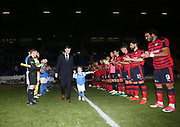 06/10/2017 - St Johnstone v Dundee - Dave Mackay testimonial at McDiarmid Park, Perth, Picture by David Young - Guard of honour for Dave Mackay