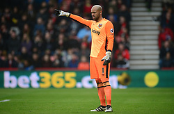 Darren Randolph of West Ham United - Mandatory by-line: Alex James/JMP - 11/03/2017 - FOOTBALL - Vitality Stadium - Bournemouth, England - Bournemouth v West Ham United - Premier League