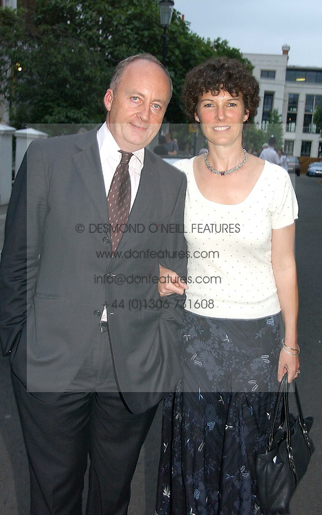 SHAUN & CAMILLA WOODWARD, she is the daughter of Sir Tim Sainsbury at Sir David & Lady Carina Frost's annual summer party held in Carlyle Square, Chelsea, London on 5th July 2006.<br /><br />NON EXCLUSIVE - WORLD RIGHTS