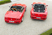 Ferrari Superamerica and Barchetta. Image by Greg Beadle