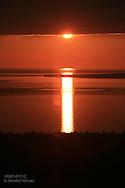 Sunset over Agawa Bay, Ontario; Canada